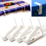 White Plastic Tablecloth Clips