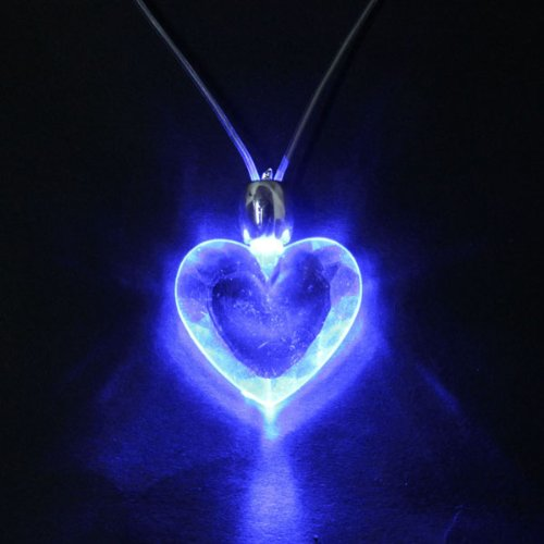 Light Lamp Charm Pendant Necklace