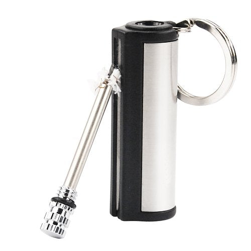 Match Box Lighter Lites 15000 Times Keyring Gadge Gift