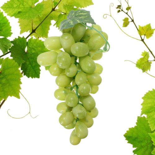 Artificial Grapes Decorative Plastic Fake Fruit