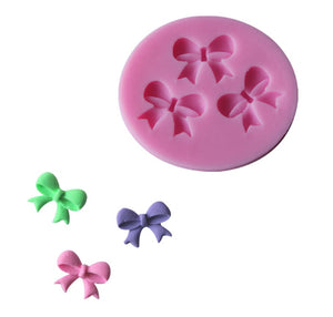 Bow-knot Fondant Mold Silicone Sugar mini mold Craft Molds DIY Cake Decorating