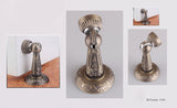 European bronze carved Magnetic Door Stopper