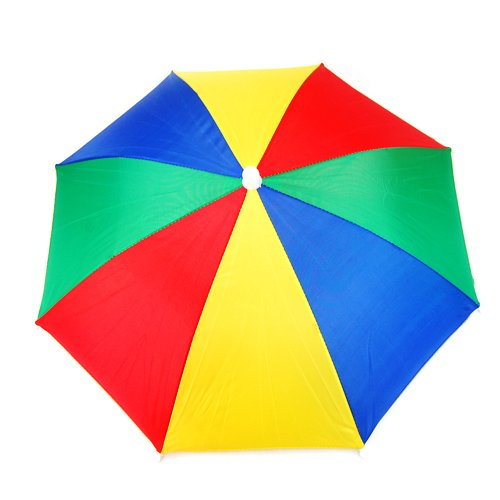 WMA Golf Fishing Camping Novelty Headwear Cap Umbrella Hat