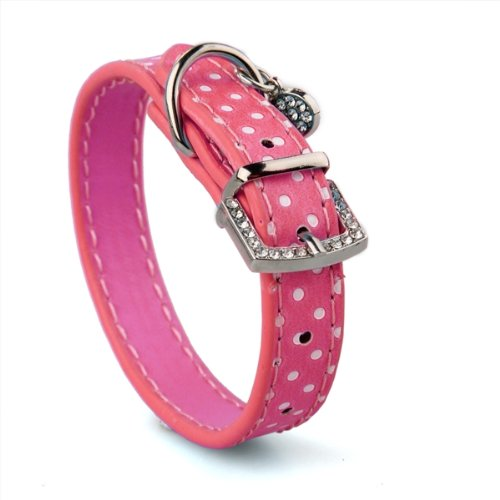 PU Leather Dog Cat Pet Puppy Neck Safety Collars