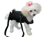 Pet Dog Cat Coat Apparel Leash Harness Carrier Bag