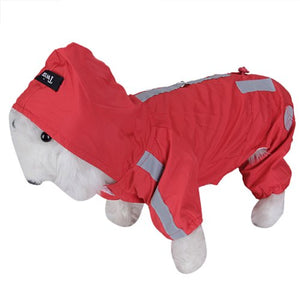 Pet Dog Rain Slicker Raincoat