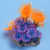 Artificial Silicone Manmade Coral Shape Fish Tank Ornament