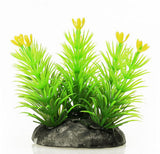"ish Tank Aquarium Aquascaping 2.5"" Height Green Plastic Grass Plant"