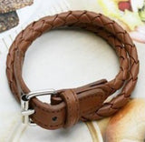 Double Wrap Belt Bracelet
