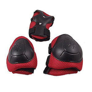 Kids Skating Gear Knee Elbow Wrist Pads Protector