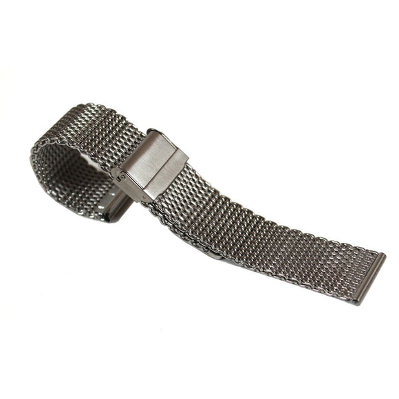 Stainless Steel Mesh Watch Band