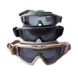 Metal Mesh CQB Tactical Airsoft Goggles Glasses