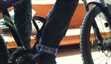 Bike Bicycle Velcro Leg Bind Belt