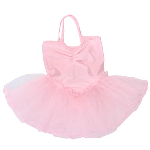 Girls Fairy Dress Ballet Tutu Leotard
