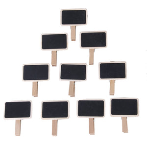 Mini Message Wooden Blackboard