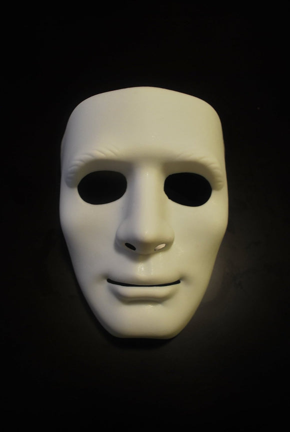 Plain White party mask