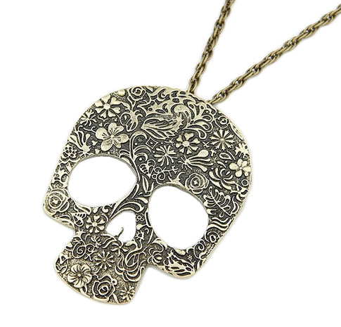 Skull Bone Skeleton Necklace