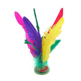Five Color Feather Chinese Jianzi Toy Kick Shuttlecock