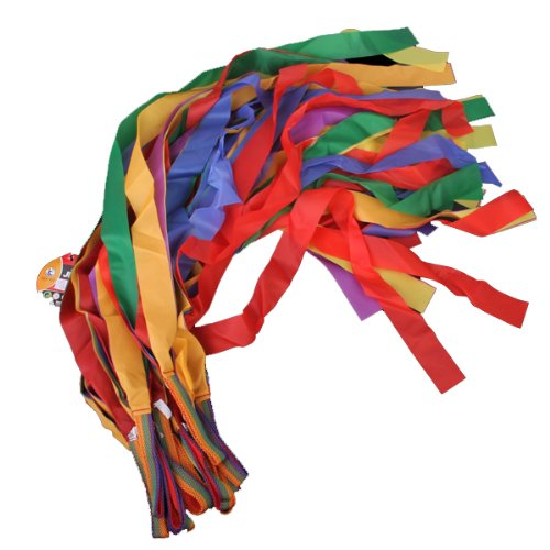 Hand Held Dance Rainbow Ribbon Toys