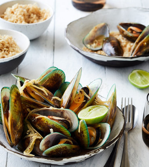 Recipe: Sauv with sake mussels
