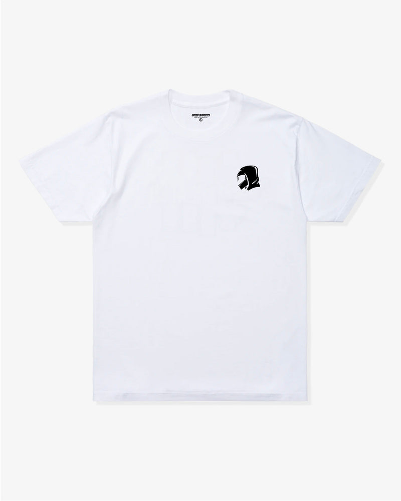 Speed Suspects Icon White T-Shirt