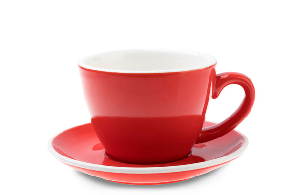 RED 6oz Cup & Saucer