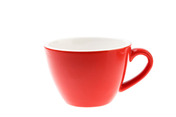 RED 10oz Cup & Saucer