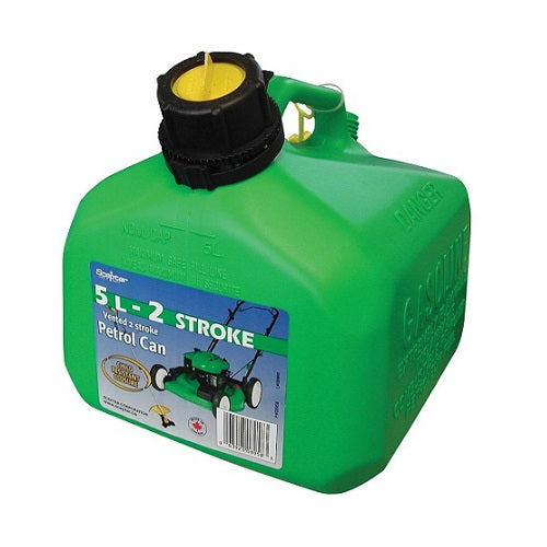 Green 2 Stroke Fuel Can 5Lt