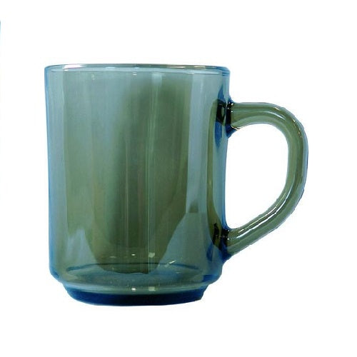 250ml Arcoroc Smoked Glass Mug