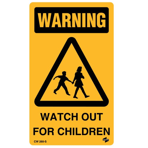 Warning Watch For Children