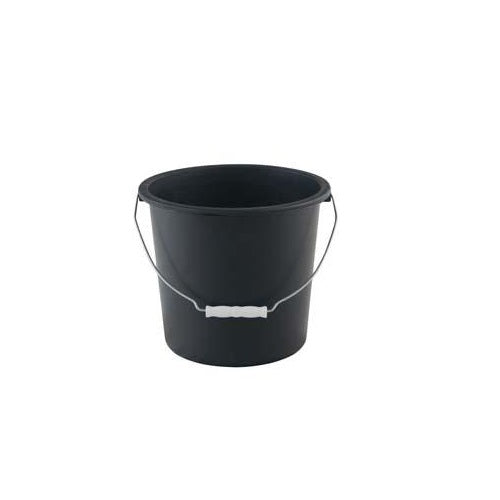 Black 9Lt Calf Bucket