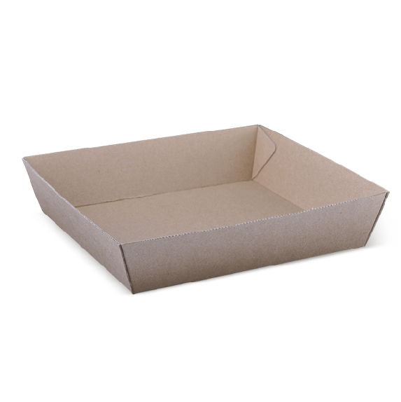 Endura Corrugated Tray #2 (178 x 178 x 45mm) 60/Sleeve