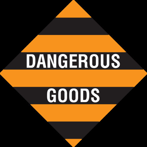 Dangerous Goods (Vehicle Placard Only)