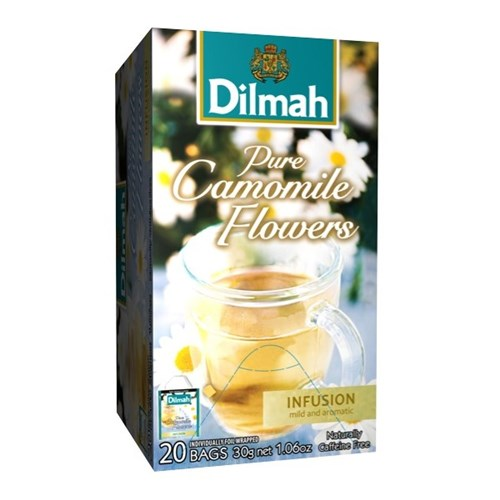 Dilmah Camomile Enveloped Tea Bags