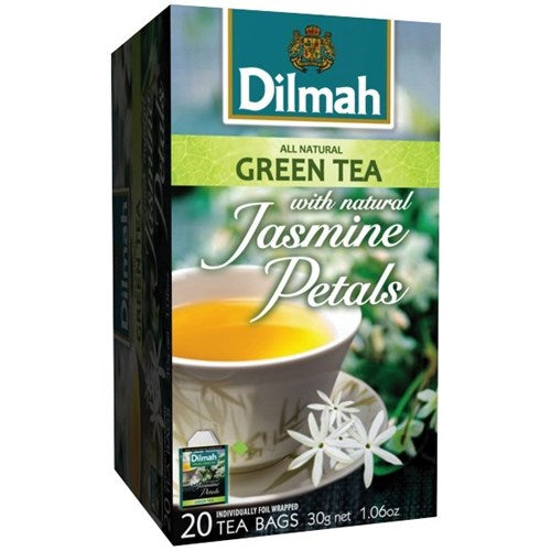 Dilmah Jasmine Green Enveloped Tea Bags
