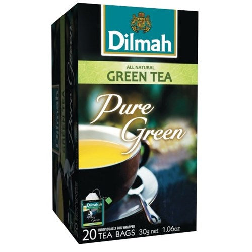 Dilmah Natural Green Enveloped Tea Bags