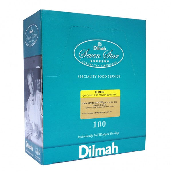 Dilmah Lemon Enveloped Tea Bags