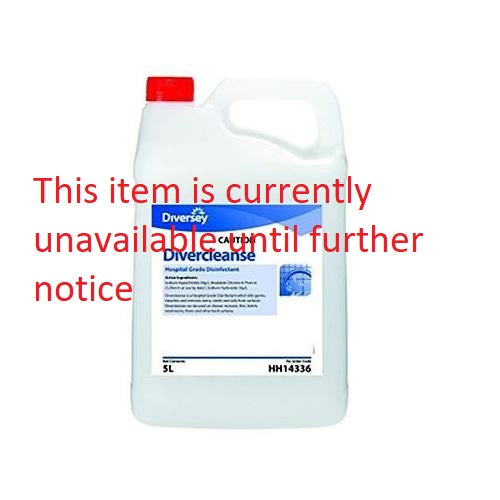 Divercleanse Hospital Grade Disinfectant