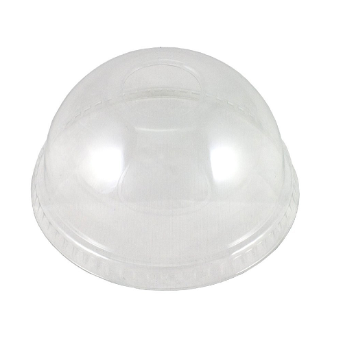 Domed Lid for Recyclable Clear Cold Cups