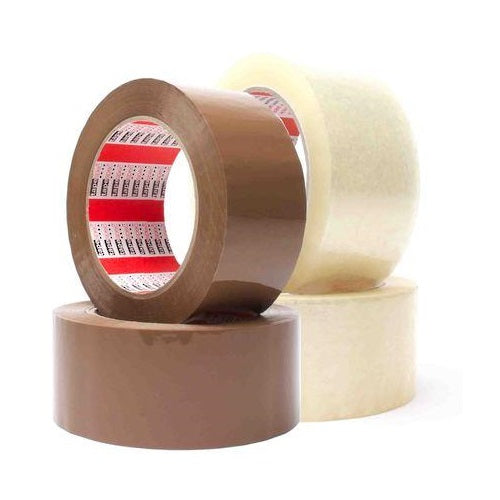 Clear Low Noise Packaging Tape 48mm