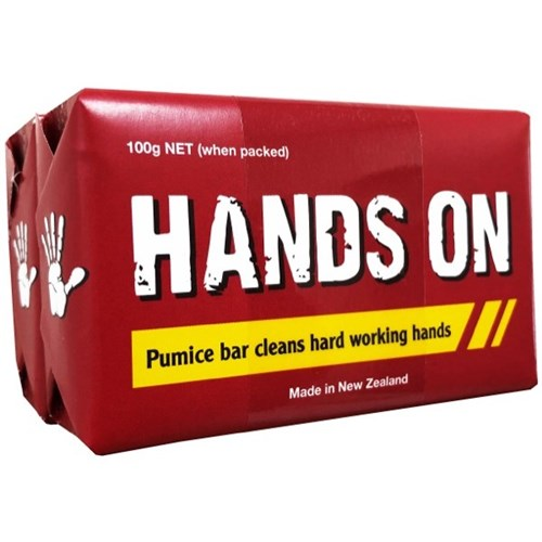 Hands On Pumice Soap Bar (Twin Pack)