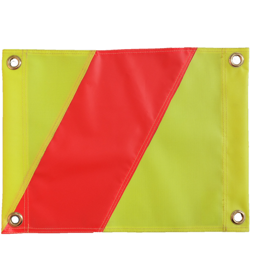 Hazard Flag Yellow / Orange