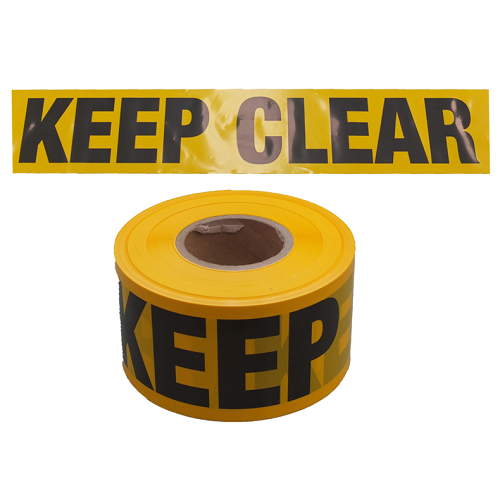 Keep Clear Tape