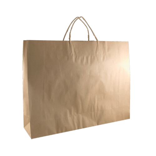 Kraft Boutique Carry Bag (450 x 125 x 350mm)