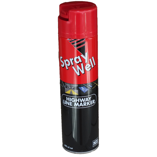 Spraywell Upside Down Linemarker Cans 600ml