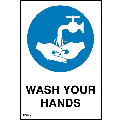 Mandatory Wash Your Hands