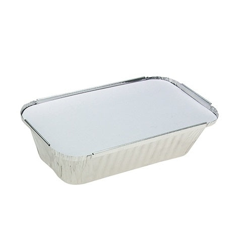 Medium Foil Hangi Tray & Lid 125/slv
