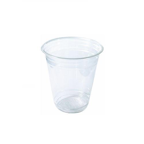 420ml Clear Plastic Recyclable Cold Cups & Lids