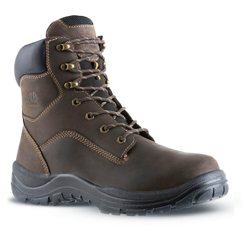 No.8 Pearse Safety Boot Brown