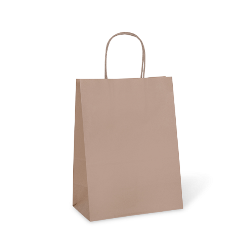 Kraft Carry Bag #10 Petite (205 x 110 x 275mm)